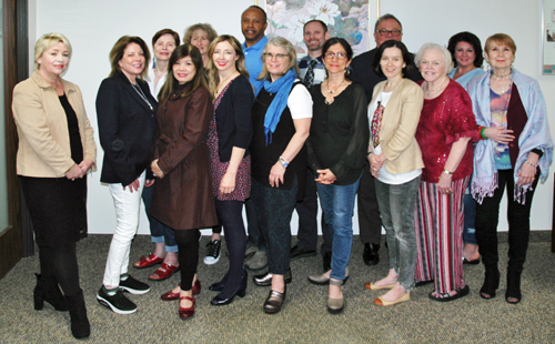 Graduates of our The Week of Power - Advanced Hypnotherapy Certification with 5-PATH® and 7th Path Self-Hypnosis® April 2019