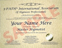 Banyan Hypnosis Center Master Certification